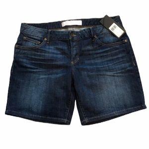NWT Guess Jean shorts dark wash low rise shorts 29